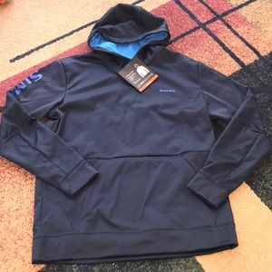 Men's Simms Challenger Hoodie M pullover NWT
